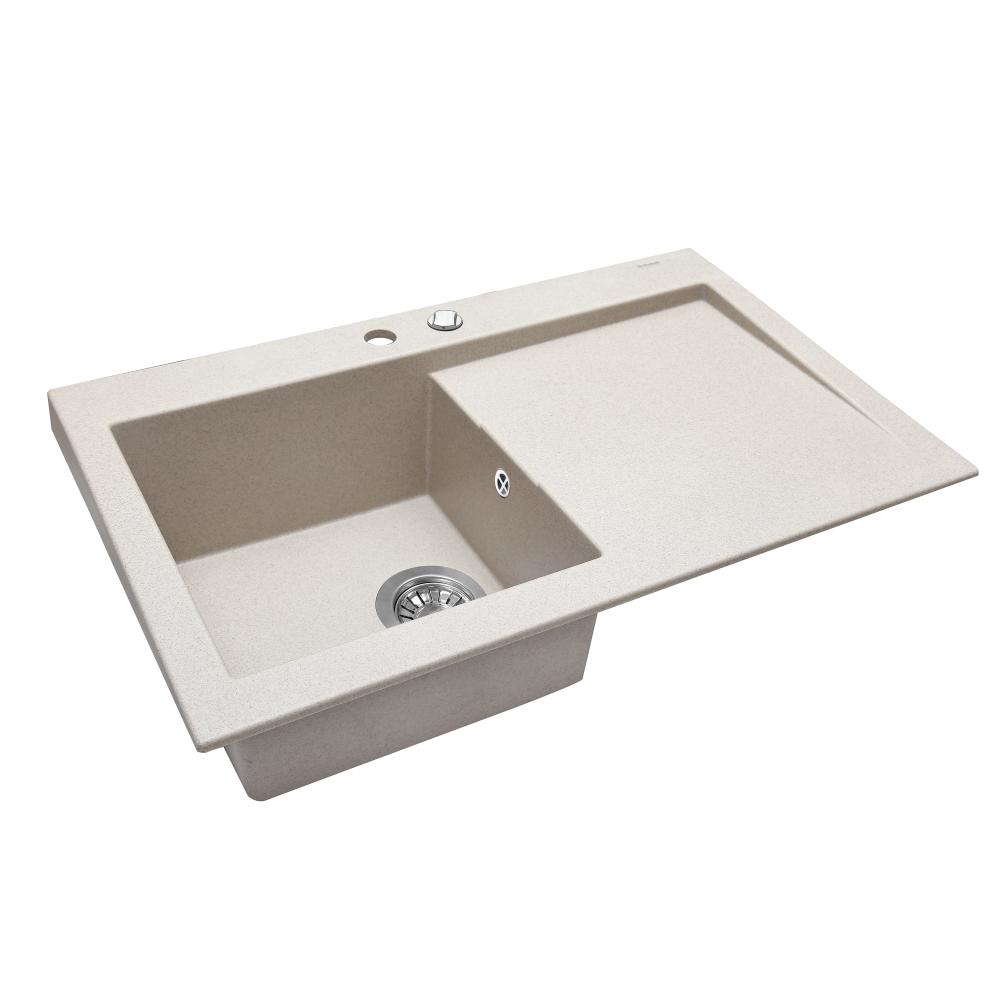 Granite kitchen sink Perfelli SOLO PGS 118-80 SAND