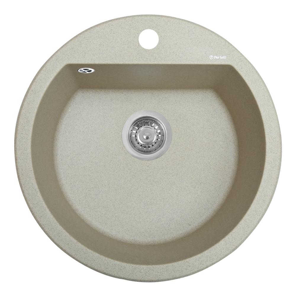 Мийка кухонна гранітна  Perfelli SONNO RGS 105-51 SAND