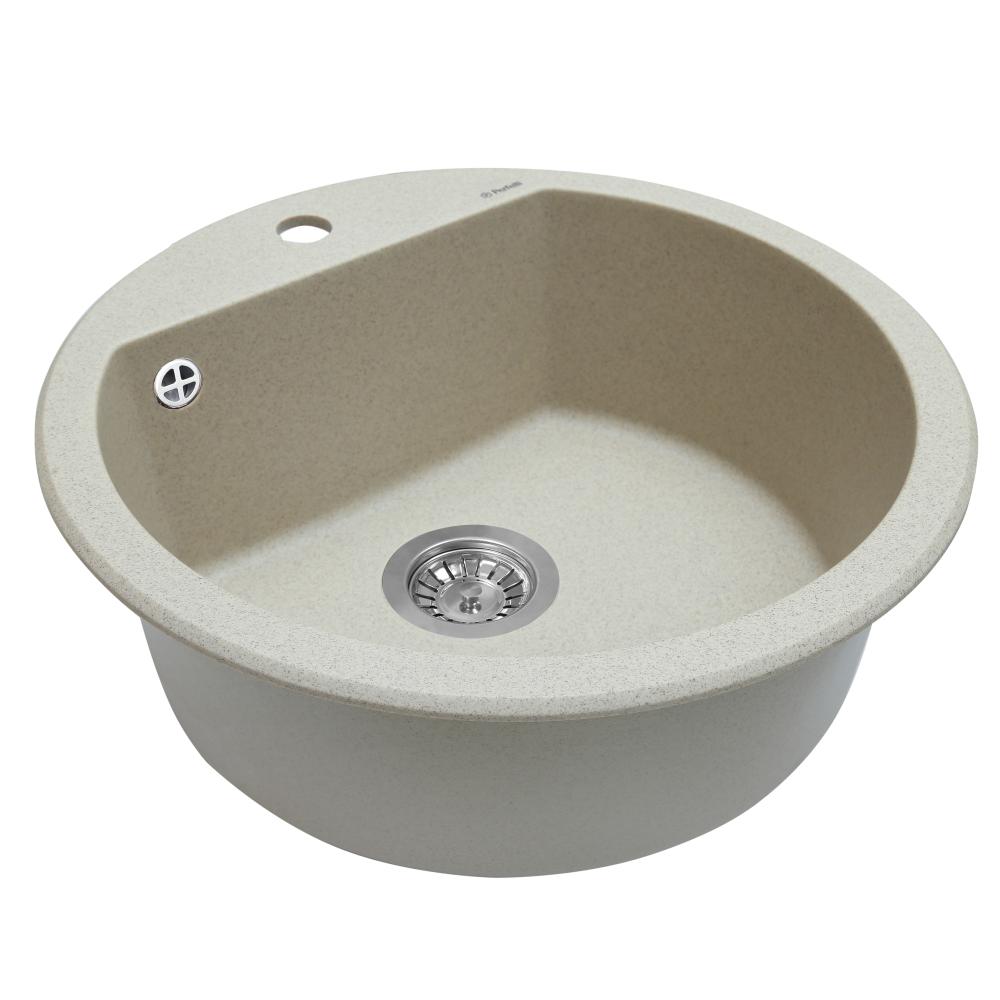 Granite kitchen sink Perfelli SONNO RGS 105-51 SAND