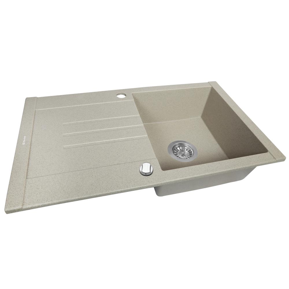Granite kitchen sink Perfelli TINETTO PGT 114-76 SAND