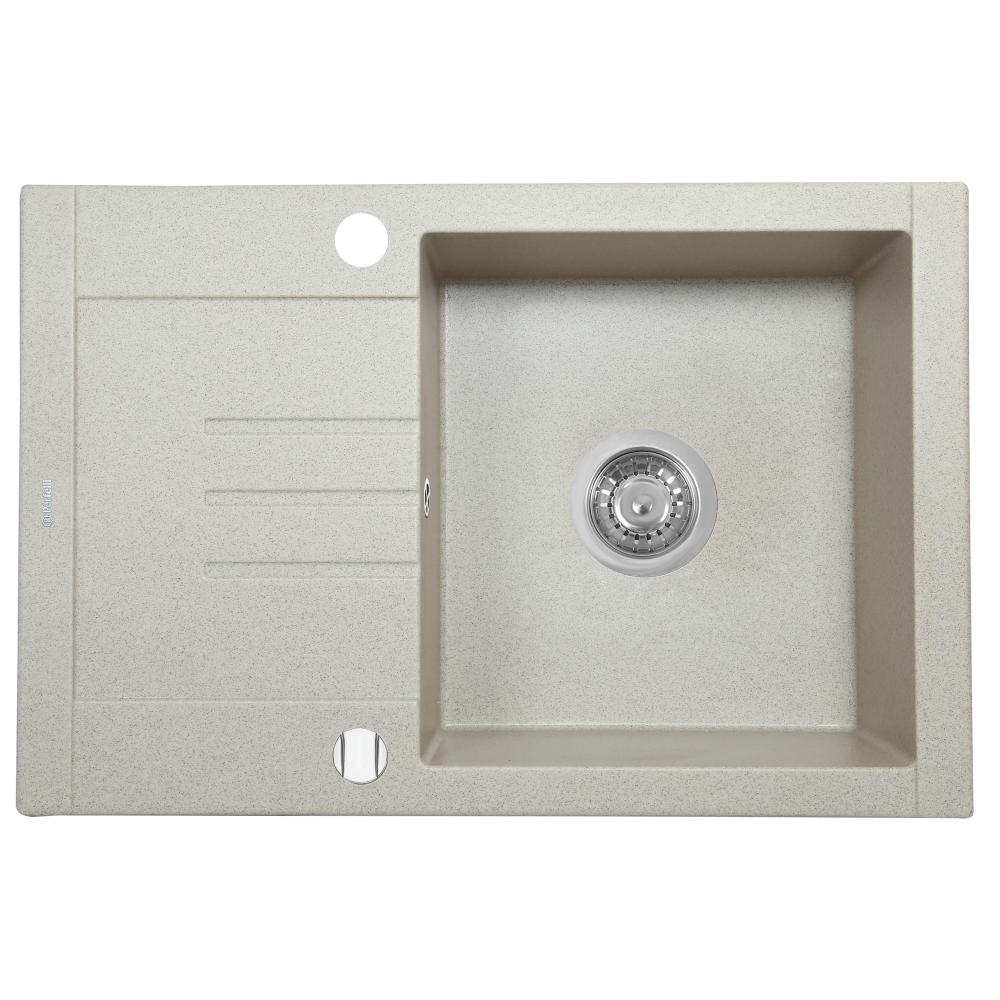 Lavello da cucina in granito Perfelli TINO PGT 134-66 SAND