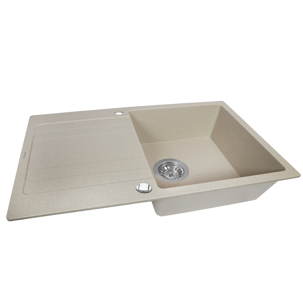 Granite kitchen sink Perfelli VILLA PGV 114-86 SAND