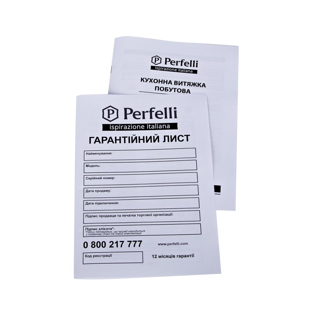 Вытяжка полновстраиваемая Perfelli BI 6011 A 550 DARK IV