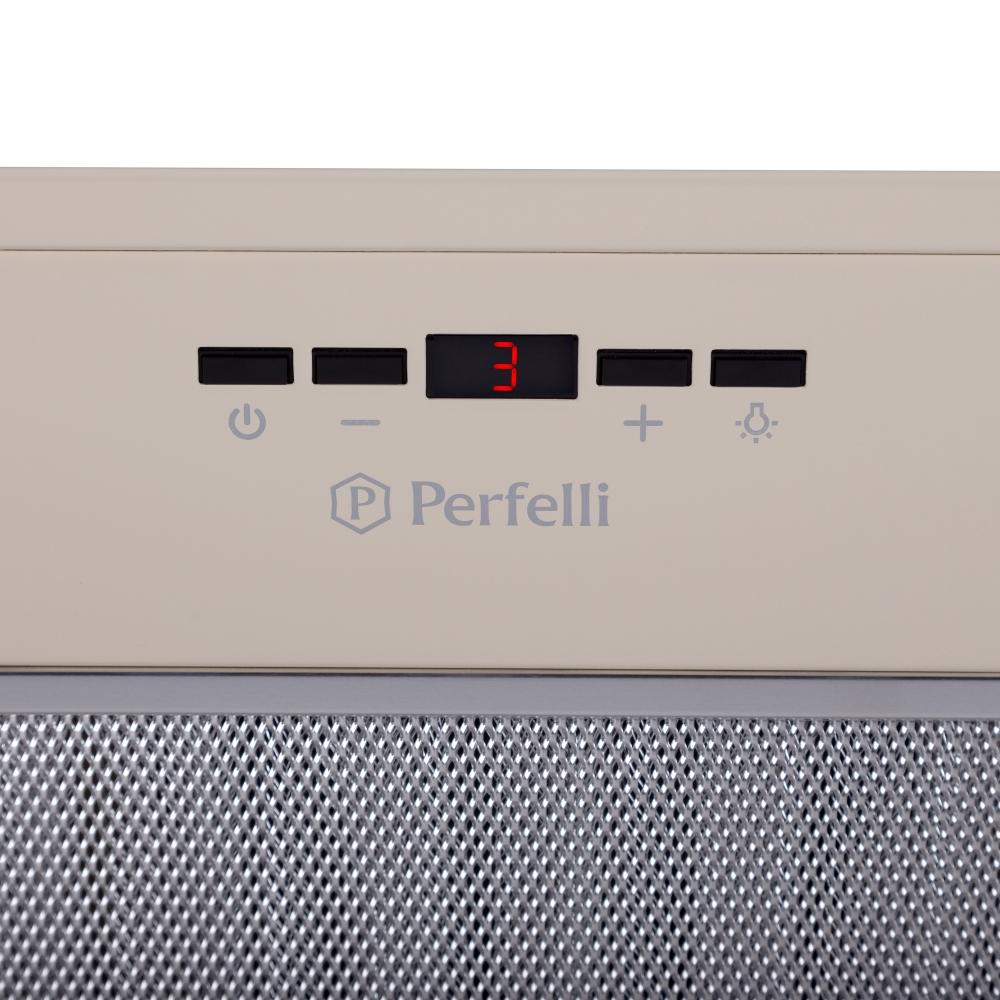 Вытяжка полновстраиваемая Perfelli BIET 6512 A 1000 IV LED