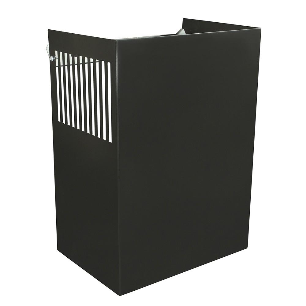 Аксессуар Perfelli Декоративный кожух DKM 60/90 (TET) чёрный