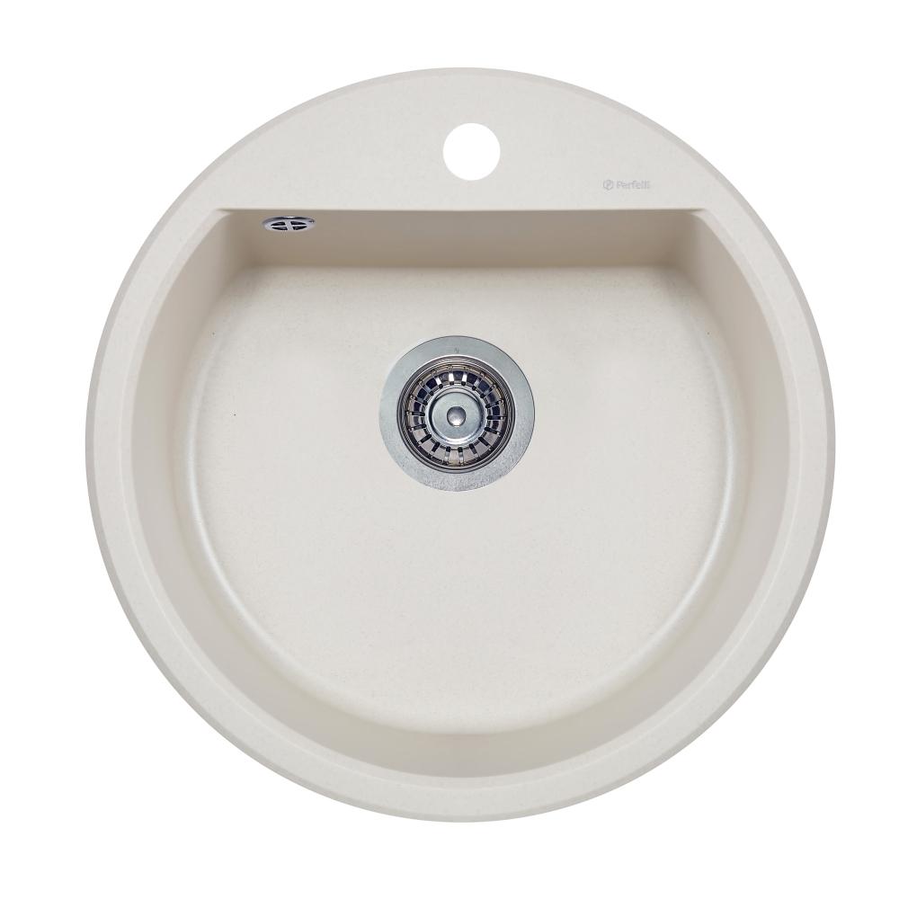 Lavello da cucina in granito Perfelli ALVA RGA 104-49 LIGHT BEIGE