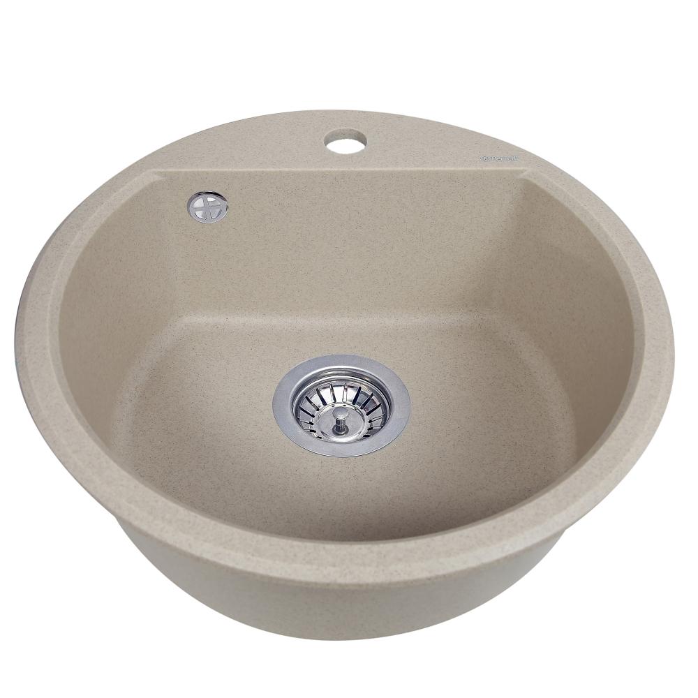 Мийка кухонна гранітна  Perfelli ALVA RGA 104-49 SAND