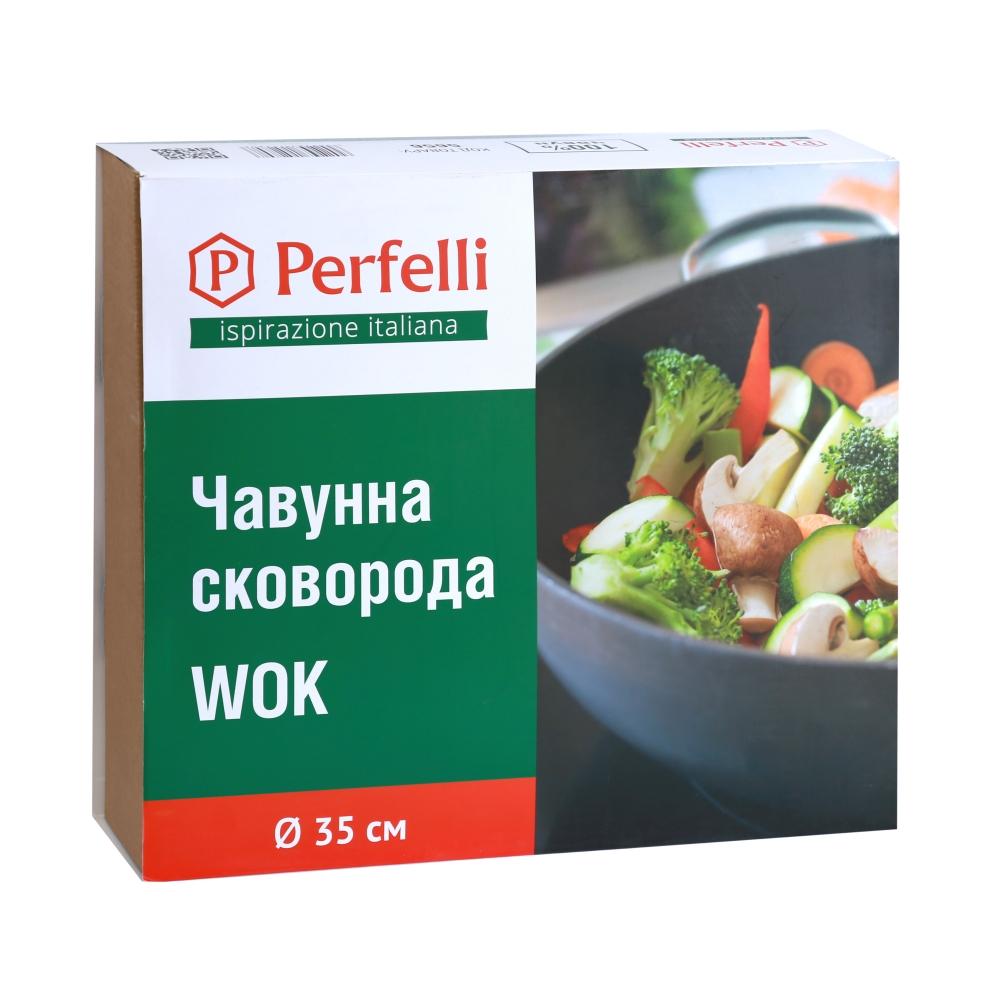 Cast-iron pan WOK Perfelli 5656 35 cm.