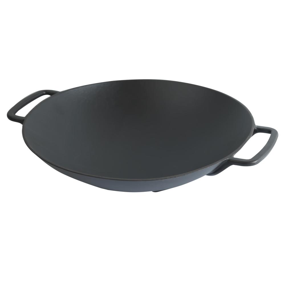 Чугунная сковорода WOK Perfelli 5656 35 см.