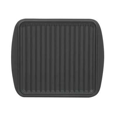 Cast-iron grill pan...