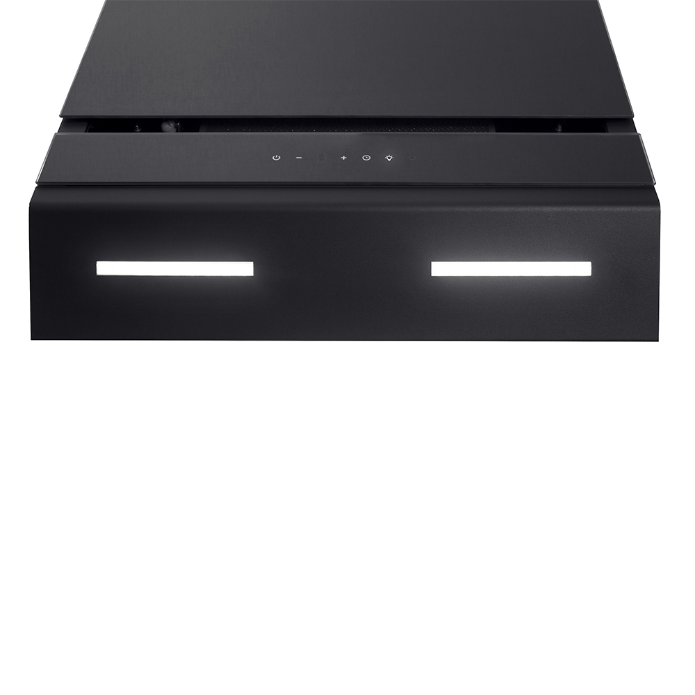 Decorative Incline Hood Perfelli DNS 6723 B 1100 BL LED Strip