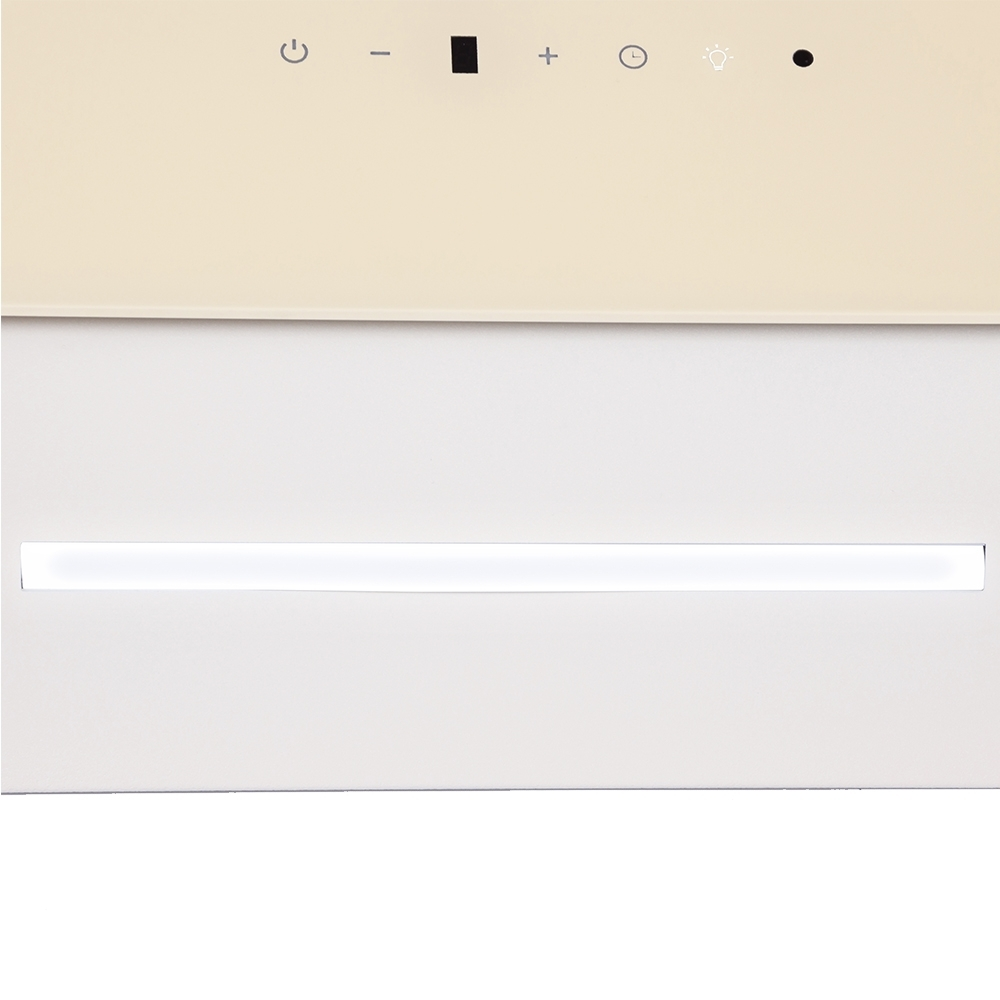 Вытяжка декоративная наклонная Perfelli DNS 6343 B 750 IV LED Strip