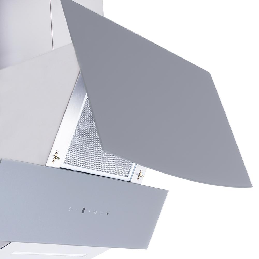 Decorative Incline Hood Perfelli DNS 6743 B 1100 GR LED Strip