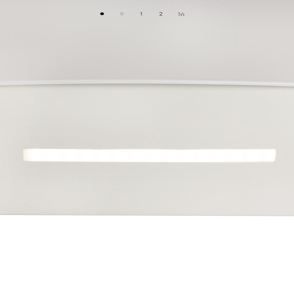Decorative Incline Hood Perfelli DNS 6763 B 1100 IV LED Strip