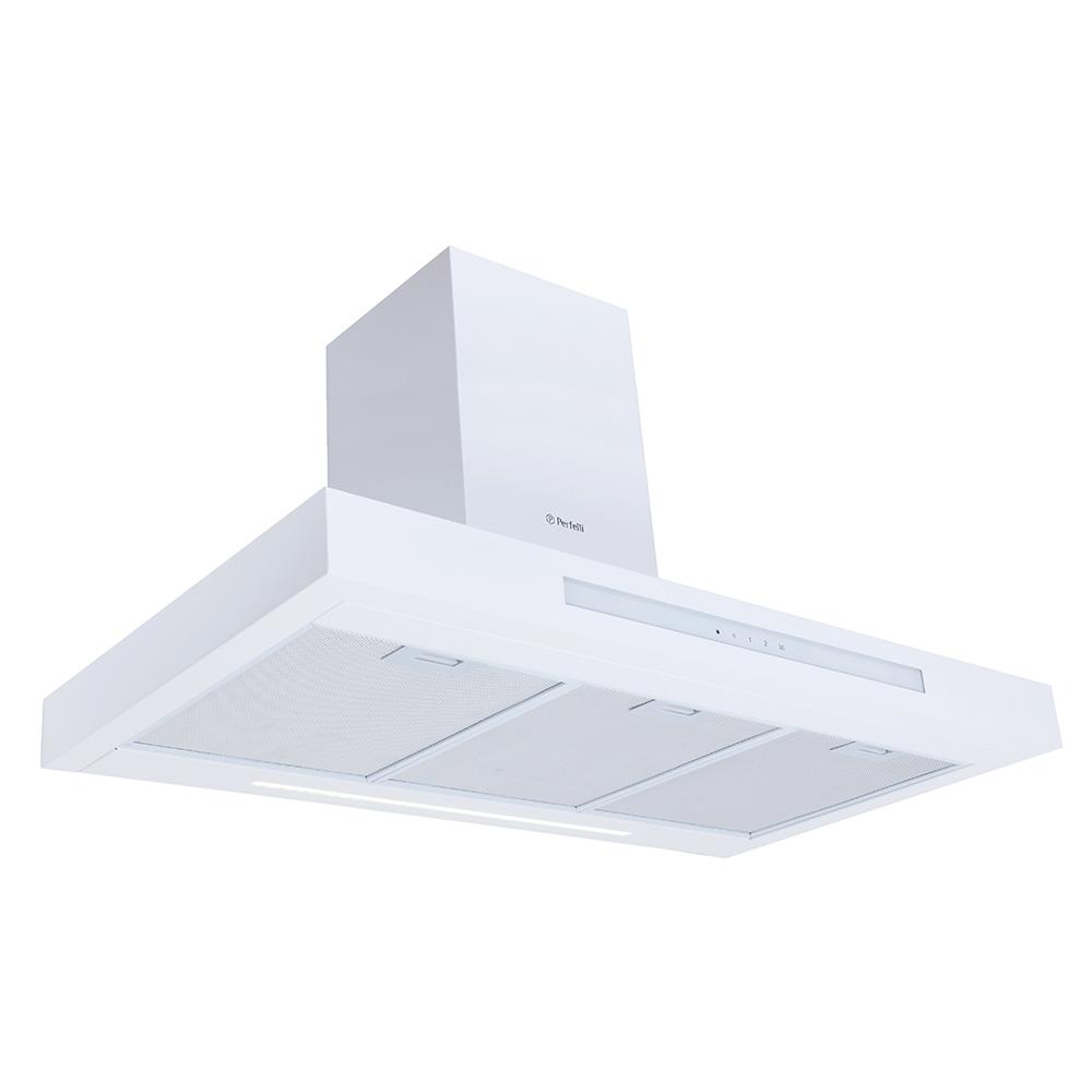 Вытяжка декоративная Т-образная Perfelli TS 9723 B 1100 WH LED Strip