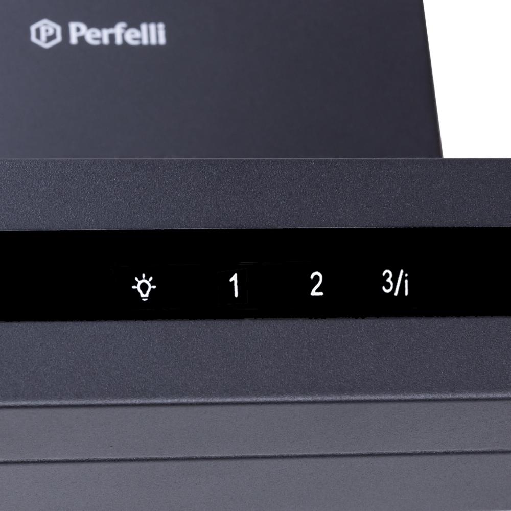 Вытяжка декоративная Т-образная Perfelli TS 6723 B 1100 BL LED Strip