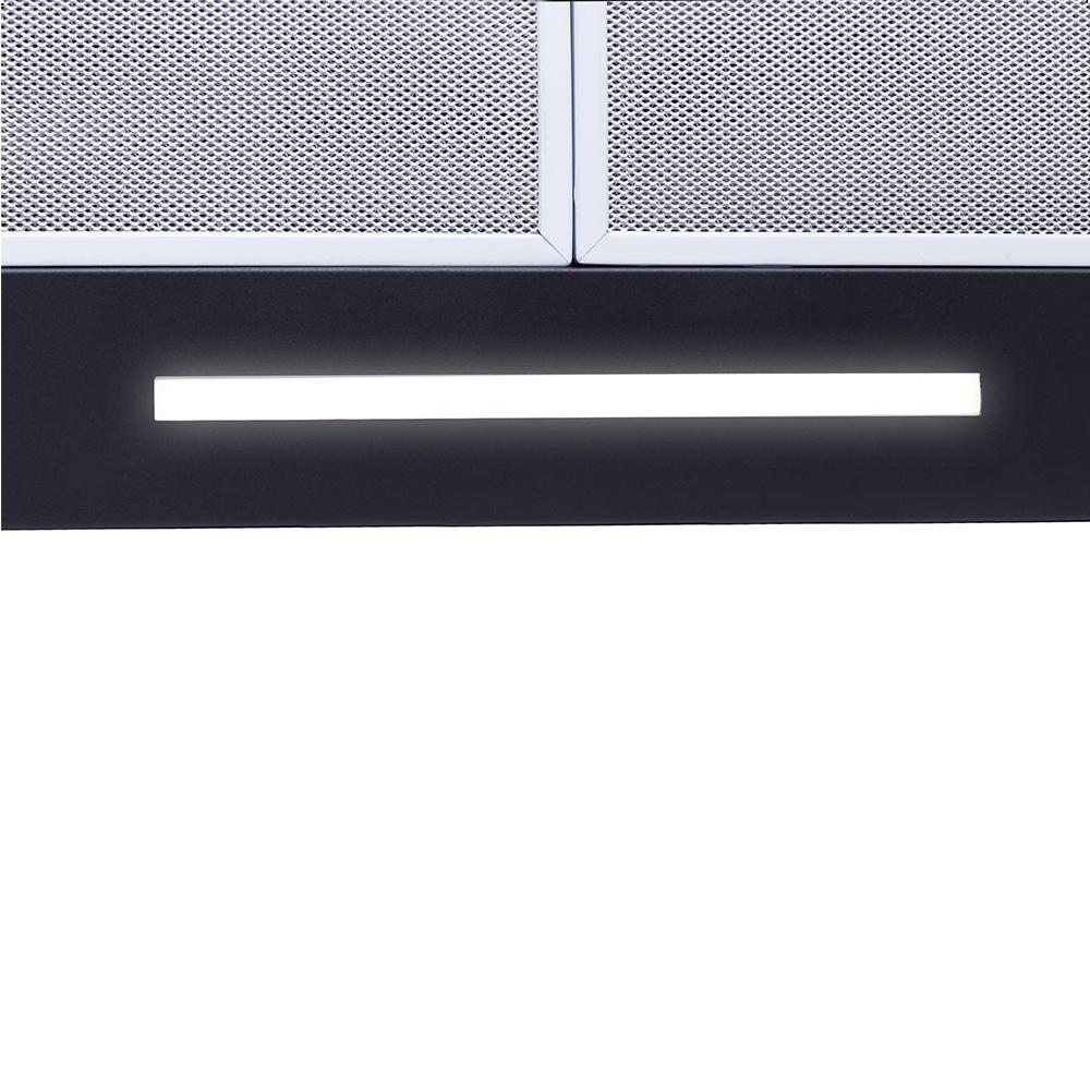 Hood decorative T-shaped Perfelli TS 6723 B 1100 BL LED Strip