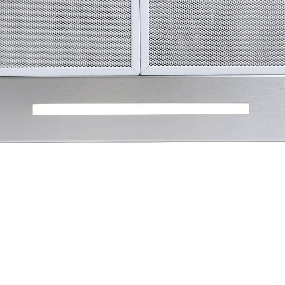 Hood decorative T-shaped Perfelli TS 6723 B 1100 I/BL LED Strip