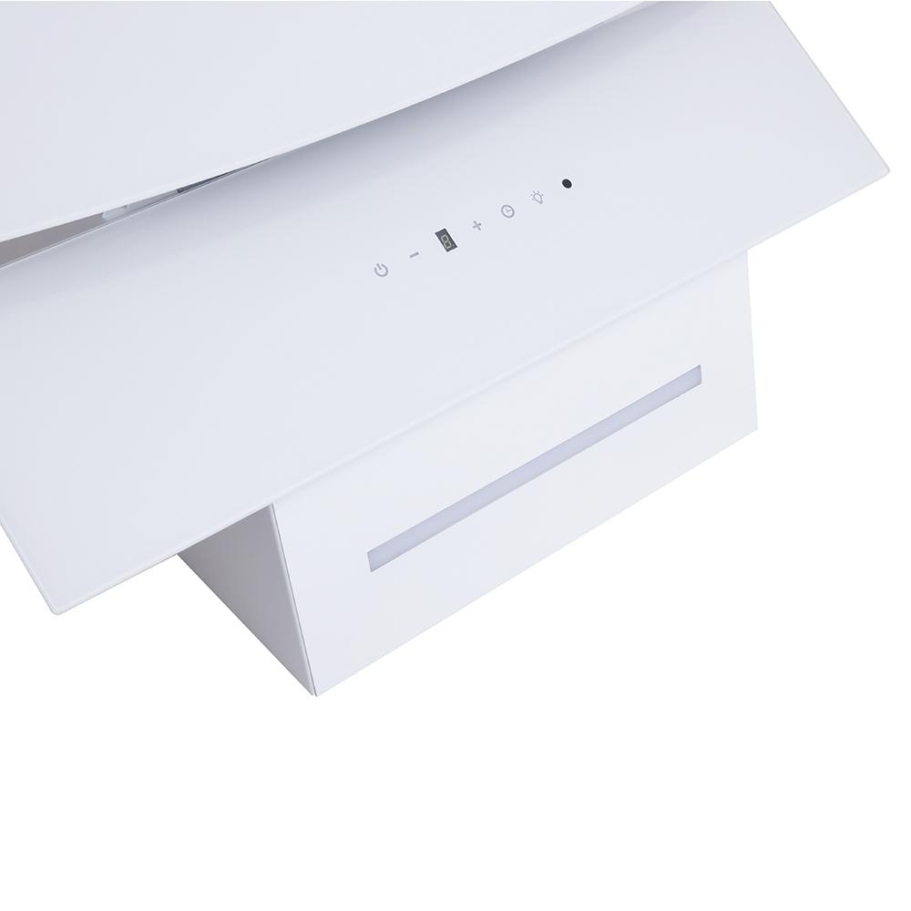Decorative Incline Hood Perfelli DNS 6343 B 750 WH LED Strip