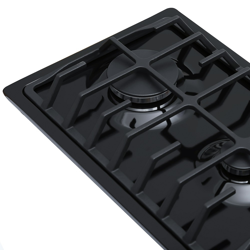 Поверхность газовая Domino на металле Perfelli HGM 317 BL