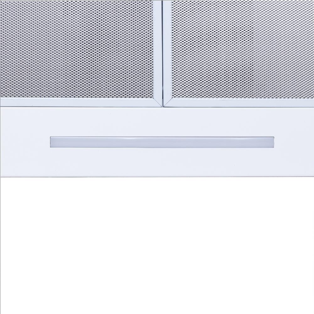 Вытяжка декоративная Т-образная Perfelli TS 6723 B 1100 WH LED Strip