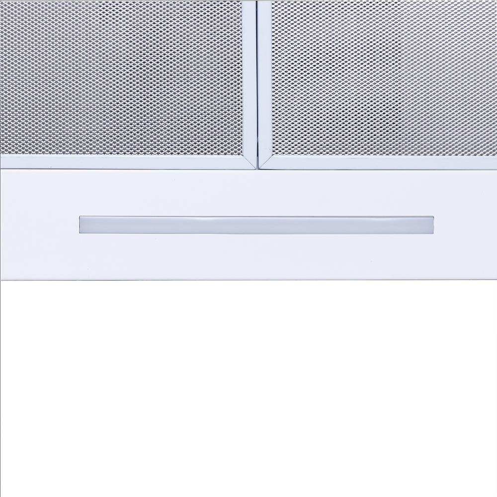 Hood decorative T-shaped Perfelli TS 6723 B 1100 WH LED Strip