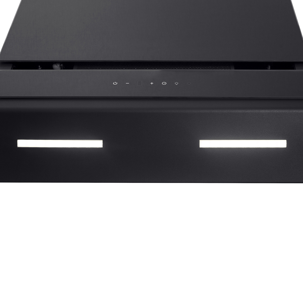 Decorative Incline Hood Perfelli DNS 9723 B 1100 BL LED Strip