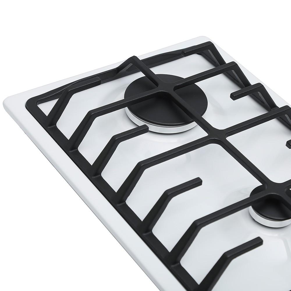Поверхность газовая Domino на металле Perfelli HGM 318 W