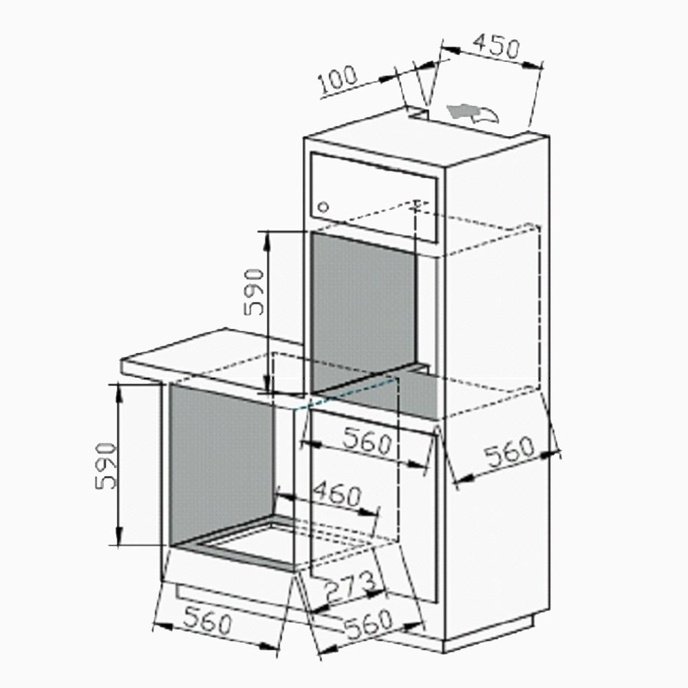 Oven Perfelli BOE 6602 BL / I