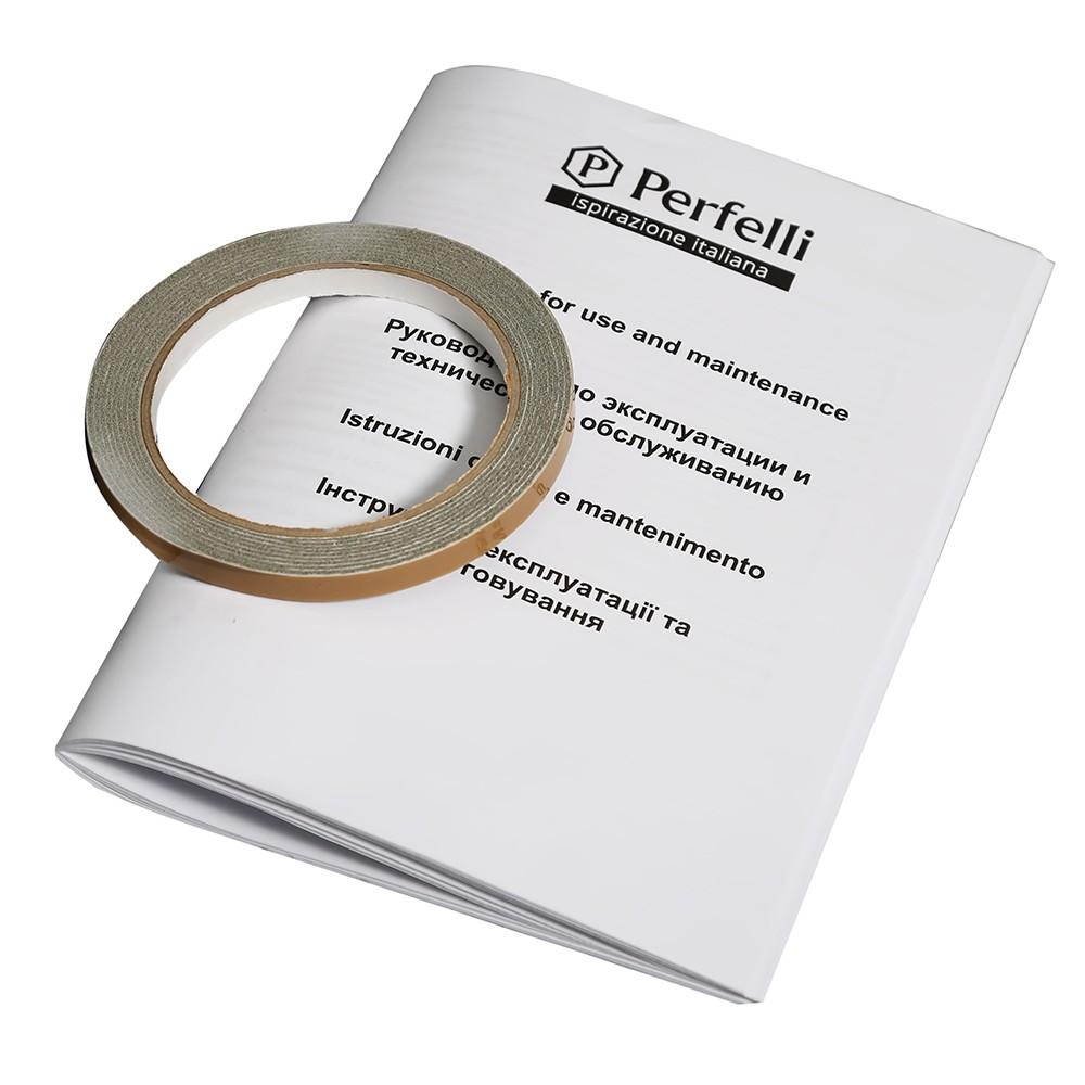 Glass ceramic surface Perfelli VH 6121 BL