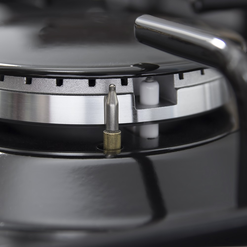 Поверхность газовая на металле Perfelli HGM 611 BL