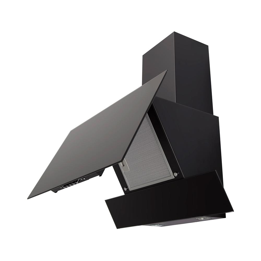 Вытяжка декоративная наклонная Perfelli DN 6113 BL LED