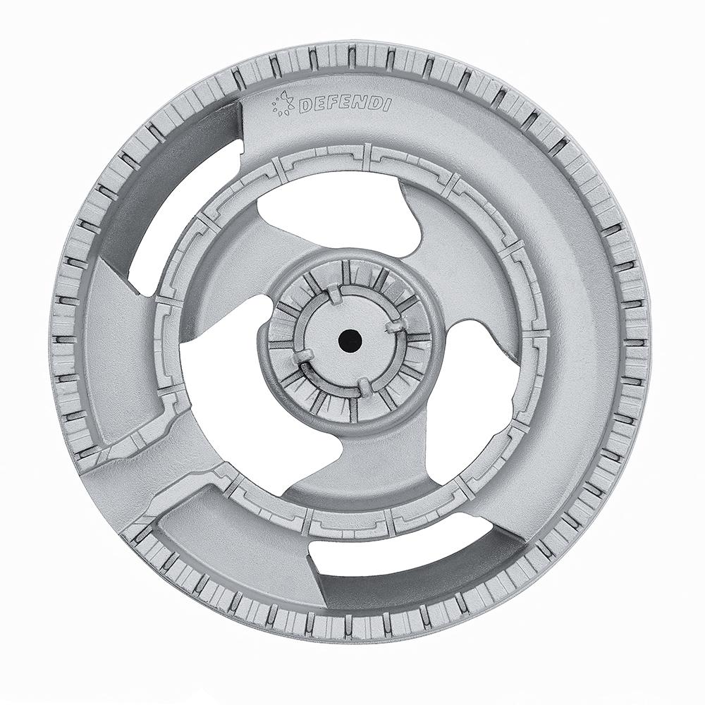 Gas surface on glass Perfelli design HGV 6440 NERO Venere