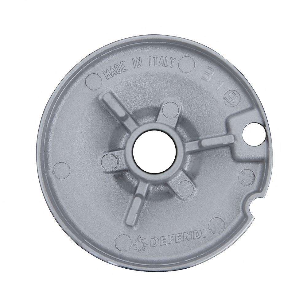 Поверхня газо-електрична 4+1 Perfelli design HKM 7430 INOX SLIM LINE