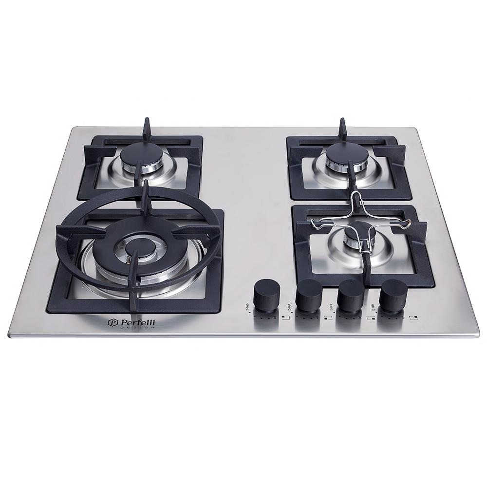 Gas Surface On Metal Perfelli design HGM 6440 INOX SLIM LINE