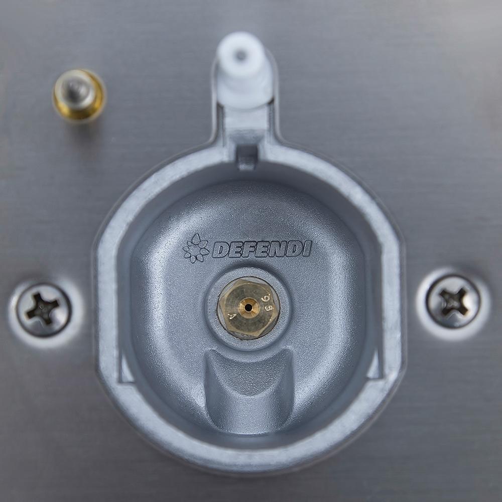 Gas Surface On Metal Perfelli design HGM 6431 INOX SLIM LINE