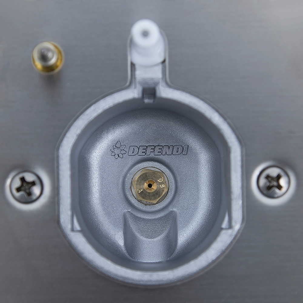 Combined surface Perfelli design HKM 6330 INOX SLIM LINE