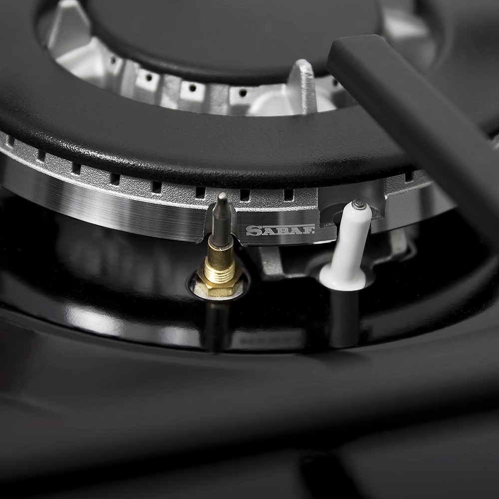 Поверхность газовая на металле Perfelli HGM 614 BL
