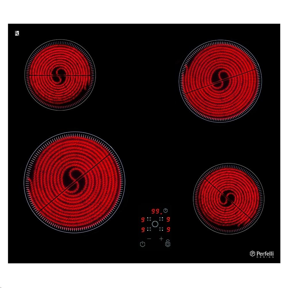 Поверхность стеклокерамическая Perfelli design HVC 6110 BL