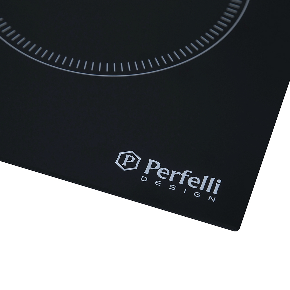Glass ceramic surface Perfelli HVC 6110 BL