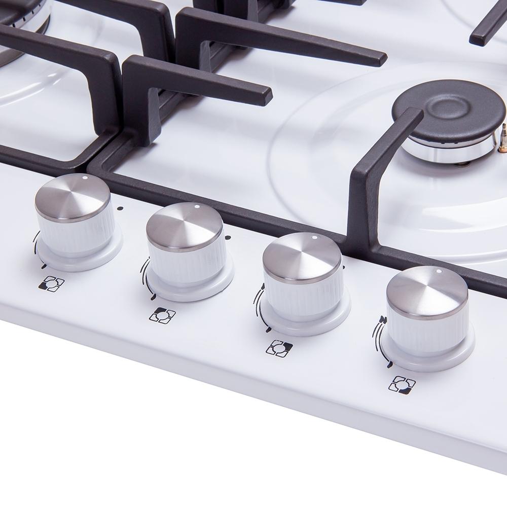 Поверхность газовая на металле Perfelli HGM 61690 WH