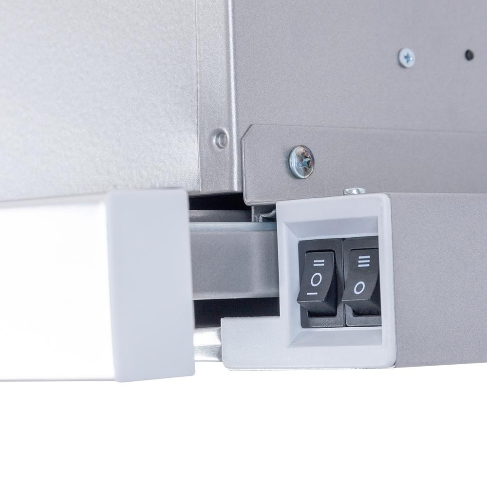 Вытяжка телескопическая Perfelli TL 6202 C S/I 650 LED