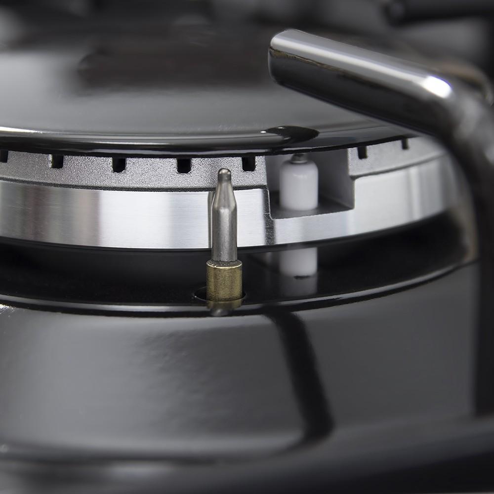 Поверхность газовая на металле Perfelli HGM 616 BL