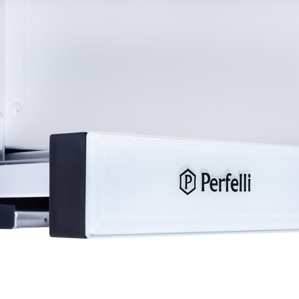 Вытяжка телескопическая Perfelli TL 6632 C WH 1000 LED GLASS