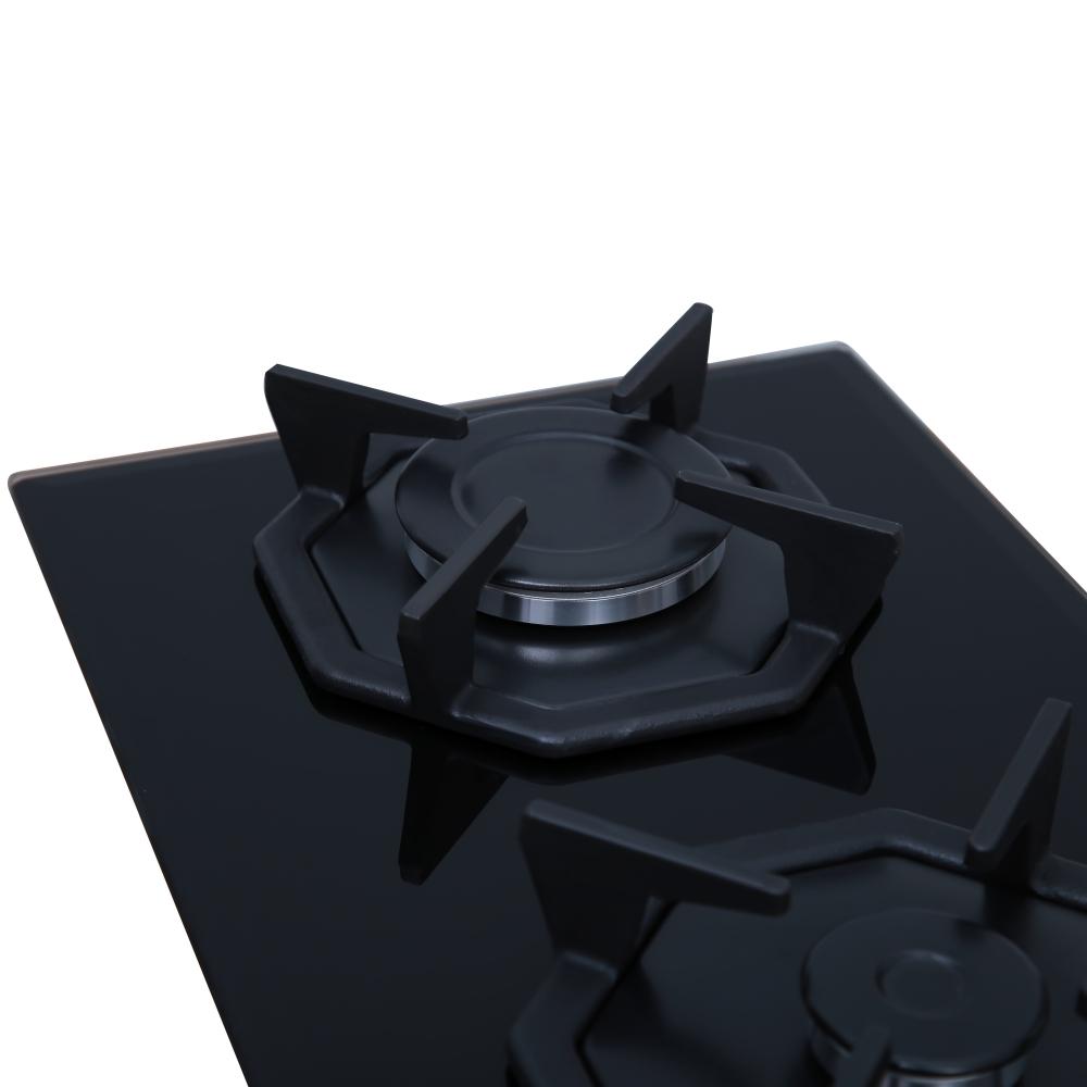 Поверхность газовая Domino на стекле Perfelli HGG 31043 BL