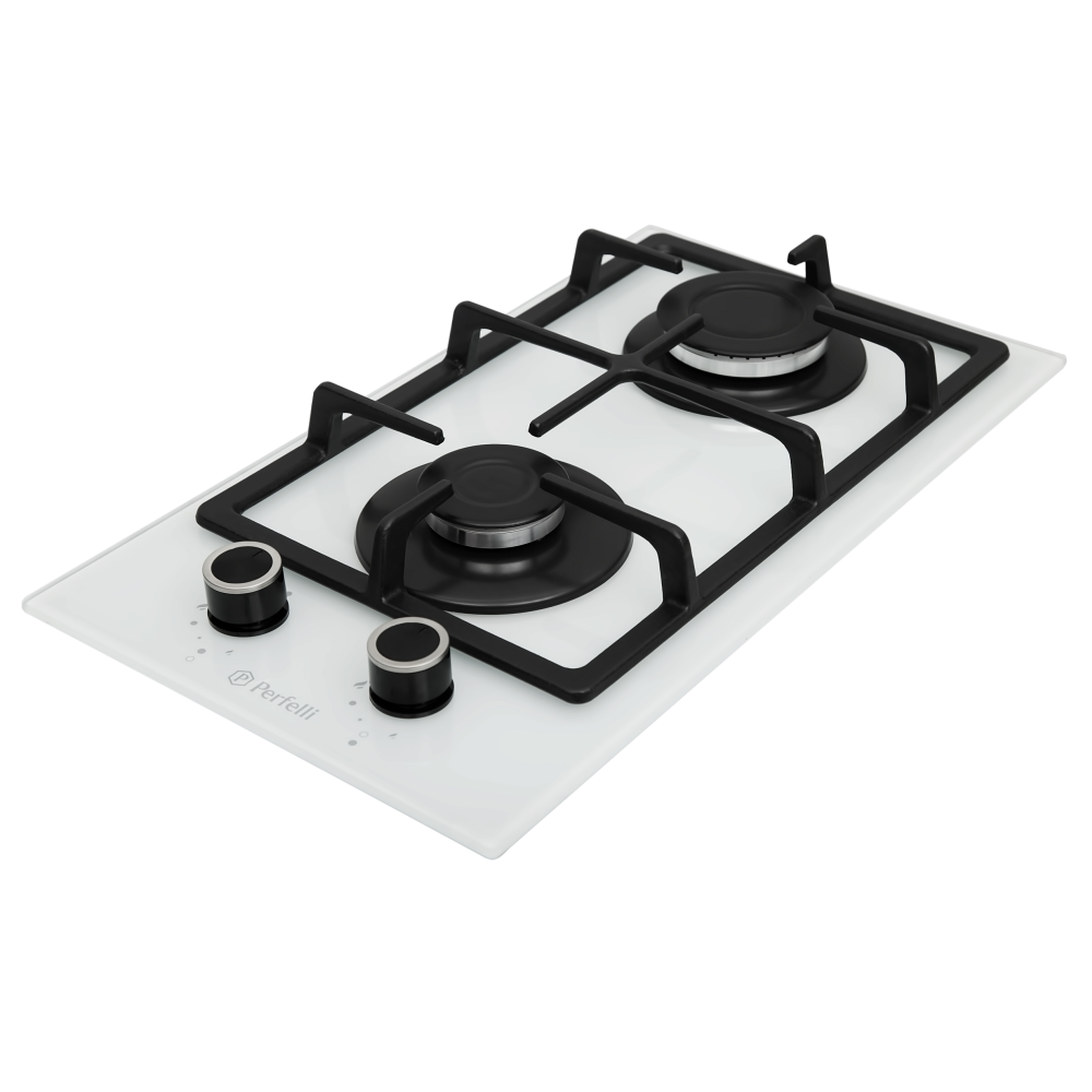 Gas Surface On Glass Perfelli HGG 31423 WH