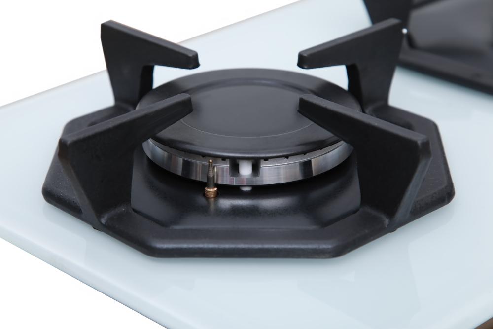 Поверхность газовая Domino на стекле Perfelli HGG 31443 WH