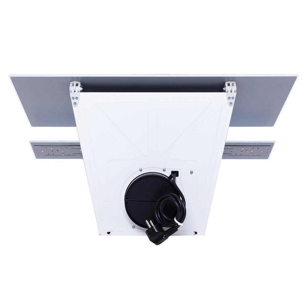 Вытяжка декоративная наклонная Perfelli DNS 6252 D 700 WH LED