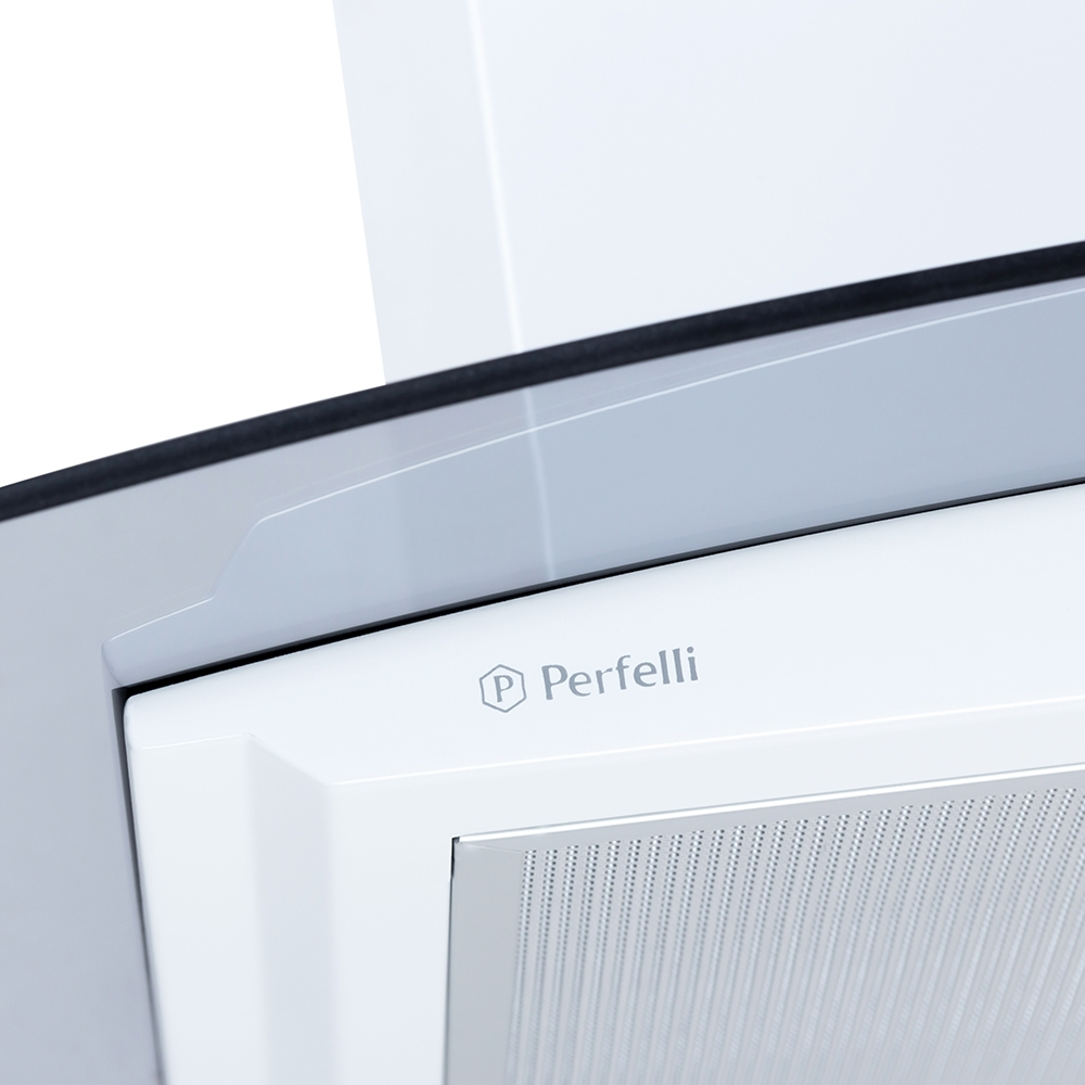 Вытяжка декоративная с стеклом Perfelli G 6841 W