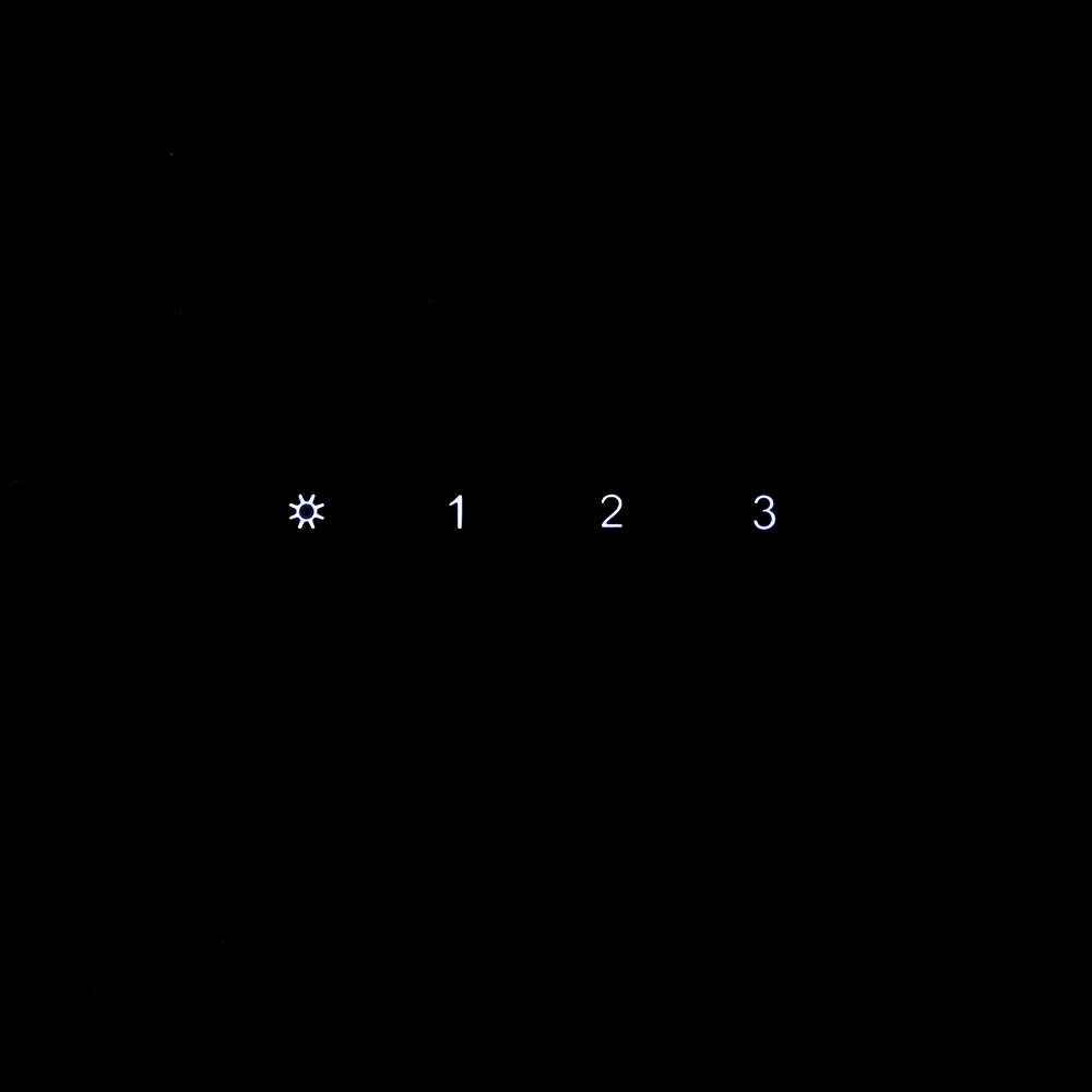 Вытяжка декоративная наклонная Perfelli DNS 9862 BL LED